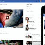 New News Feed release design announced by Facebook on March 7, 2013.