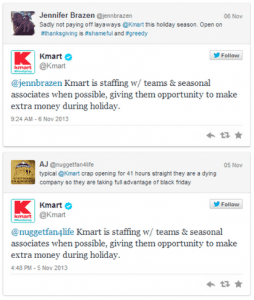Kmart Auto Tweet Fail