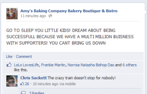 Amy's Baking Company Fail